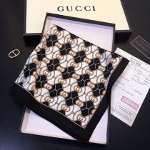 Gucci 100% silk classic fashion high quality woman square scarf 50*50 cm