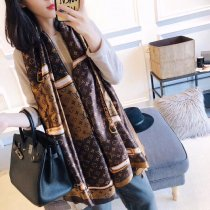 LV new classic fashion high quality woman silk scarf 90*180 cm