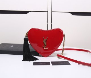 YSL hot woman high quality patent leather shoulder bag shoulder bag