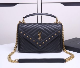 YSL messenger bag hot woman original leather handbag shoulder bag