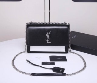 YSL organ bag hot woman original leather handbag shoulder bag