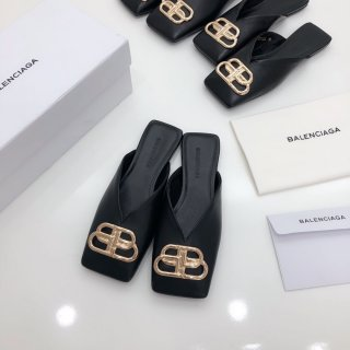 Balenciaga TOP Classic Fashion High Quality Woman Flat Slippers
