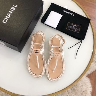 Chanel TOP Classic Fashion High Quality Women Flat Sandals