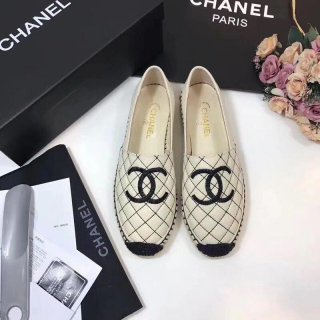 Chanel new HOT classic high quality woman fisherman casual shoes
