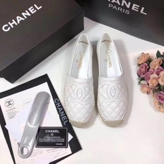 Chanel new HOT classic sheepskin woman fisherman casual shoes