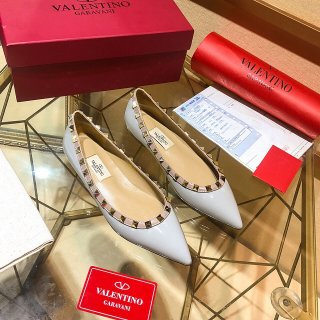 Valentino TOP classic high quality woman rivet flats