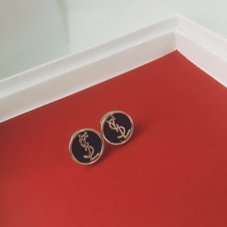 YSL Fashion Exquisite High Quality Woman Earrings Stud Earrings Jewelry
