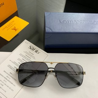 LV TOP new classic high quality man square sunglasses