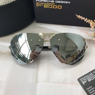 Porsche classic fashion high quality man big box sunglasses
