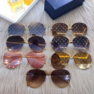 LV TOP new fashion high quality woman sunglasses