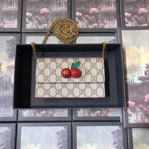 Gucci Fashion 481291 Woman High Quality Shoulder Bag Wallet Card Case