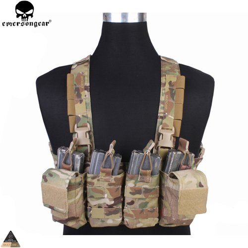 Emersongear Chest Rig Combat Recon Vest with Magazine Pouch