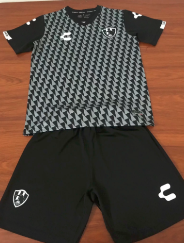 Club de Cuervos 19/20 Away Soccer Jersey and Short Kit