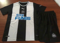 Newcastle United 19/20 Home Soccer Jersey and Short Kit