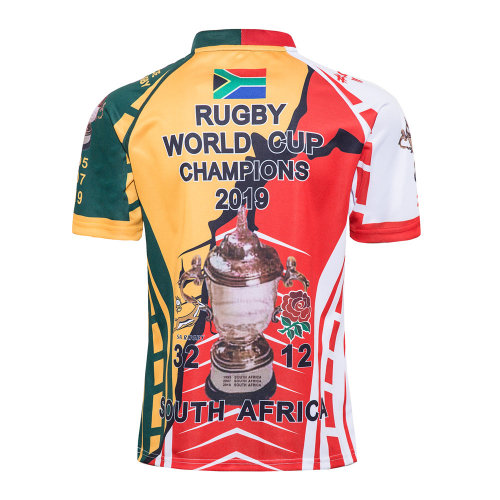 South Africa Rugby World Cup Champions 2019 Commemorate Shirt