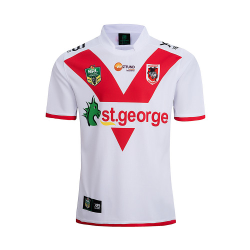 ST. George Illawarra Dragons 2018 Men's Home Rugby Jersey