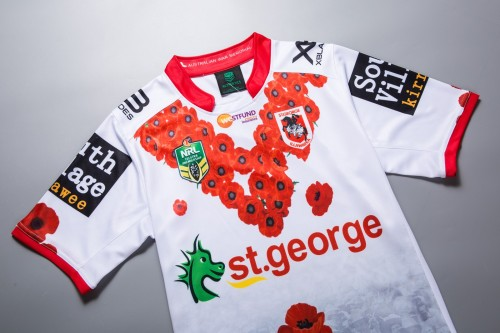 St George Illawarra Dragons 2018 Men's Commemorative Jersey