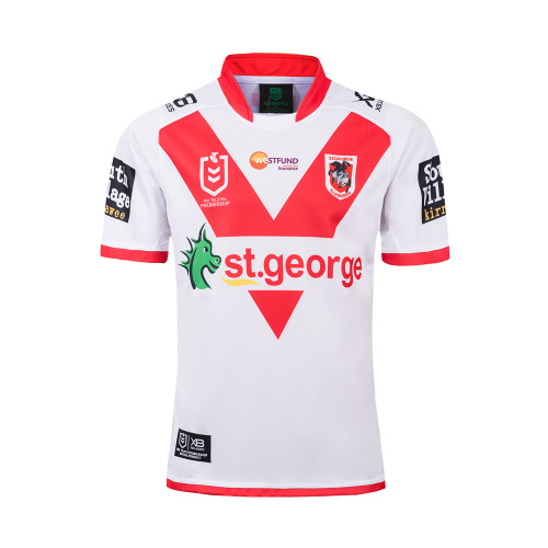 ST. George Illawarra Dragons 2019 Men's Home Rugby Jersey