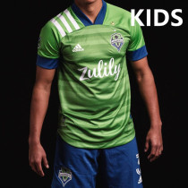Seattle 20/21 Kids Home Soccer Jersey and Short Kit