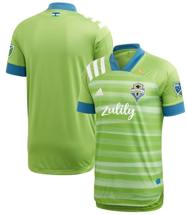 Thai Version Seattle 20/21 Home Soccer Jersey