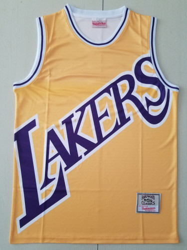 Los Angeles Lakers Yellow Throwback Classics Basketball Jerseys
