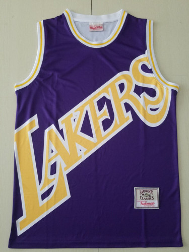 Los Angeles Lakers Purple Throwback Classics Basketball Jerseys