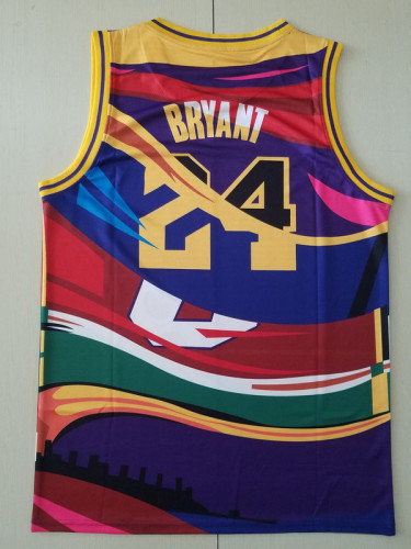 Los Angeles Lakers Kobe Bryant 24 Throwback Classics Basketball Jerseys