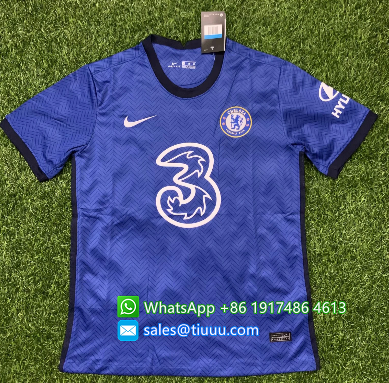 Thai Version Chelsea 20/21 Home Soccer Jersey