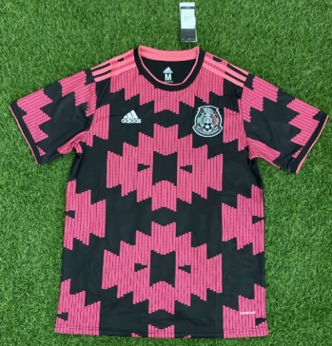 Thai Version Mexico 20/21 Soccer Jersey - Pink