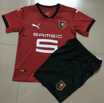 Stade Rennais 20/21 Kids Home Soccer Jersey and Short Kit