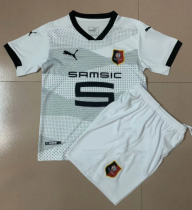 Stade Rennais 20/21 Kids Away Soccer Jersey and Short Kit