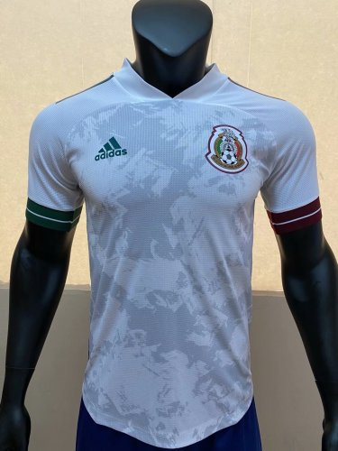 Player Version Mexico 2020 Away Authentic Jersey