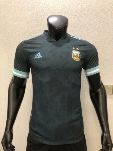 Player Version Argentina 2020 Away Authentic Jersey
