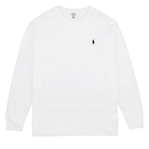 Men's Fashion Brands 2020 Fall Classics Long Sleeve Tee RL010