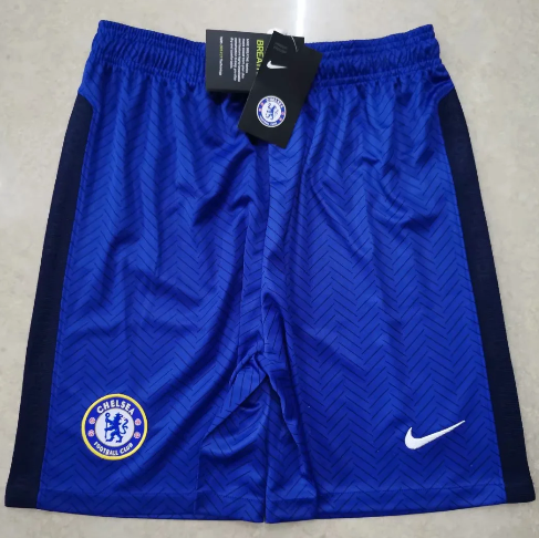 Thai Version Chelsea 20/21 Home Soccer Shorts