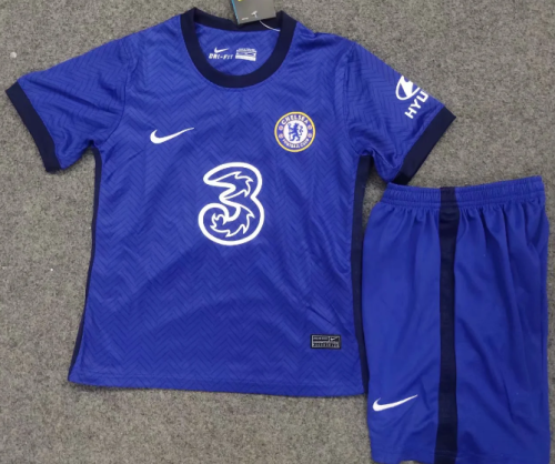 Chelsea 20/21 Kids Home Soccer Jersey and Short Kit