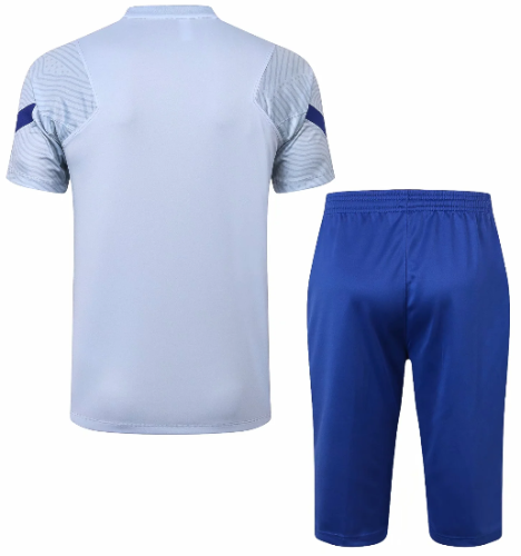 Chelsea 20/21 Training Jersey and Short Kit -D302