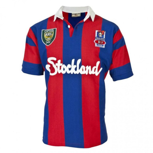 Newcastle Knights 1997 Men's Retro Rugby Jersey