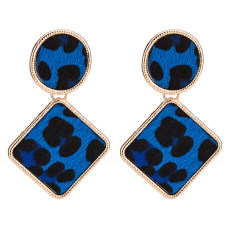 Exaggerated leopard earrings New Bohemian geometric fashion new earrings