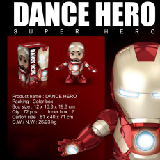 Marvel Avengers Iron Man Dance Machine