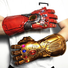 Marvel Avengers 4 Iron Man Fist Gloves