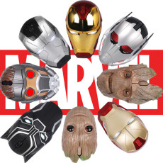 Marvel Avengers Notebook Noiseless Wireless Mouse Game Optical Mouse
