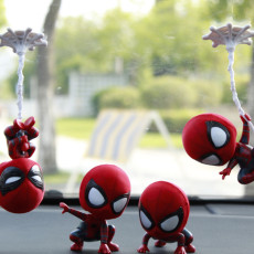 Marvel Avengers Spiderman Figure Car Decorations Figures