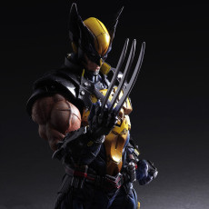 Marvel X-Man Wolverine figure joints moveable figures