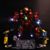 Marvel Avengers Hulk Buster LEGO Block Lamp Accessories