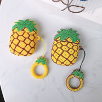 Pineapple type AirPods Wireless Earphone Silicon Storage Case