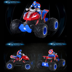 Marvel Avengers Captain America 4WD remote control vehicle