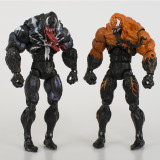 Marvel Venom Garage Kits Joint movable  PVC Model Doll toy