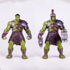 Marvel The Hulk Joint movable Garage Kits