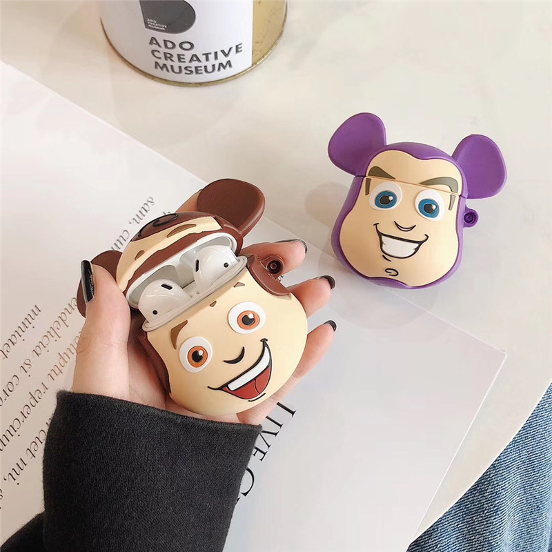 Toy Story AirPods Case Earphone Silicon Protective Cover